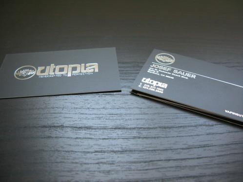 Foil Business Cards II | Website Design, Orange County, CA
