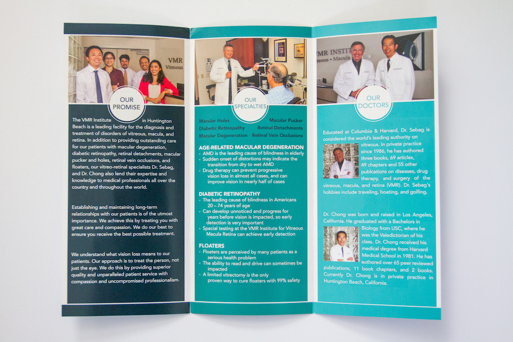Brochure Design II | Website Design, Orange County, CA