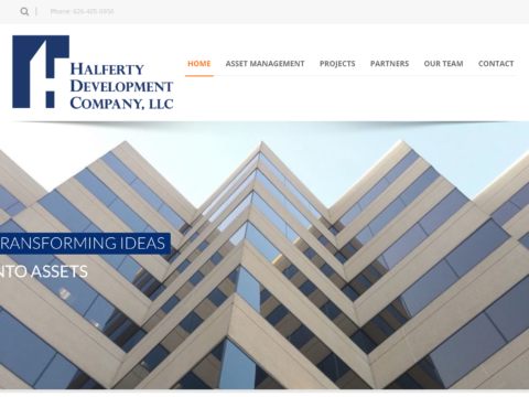 Real Estate Development Website Design