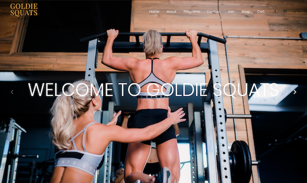Fitness Website Design in Orange County, CA